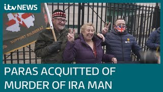 Former soldiers acquitted of murder of IRA leader Joe McCann after trial collapses | ITV News