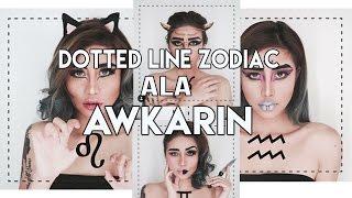 Cara Edit Dotted Line Zodiac ala Awkarin di Picsart Android dan iOS | Tutorial