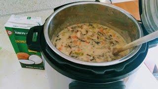 Wild Rice Soup (Instant Pot)