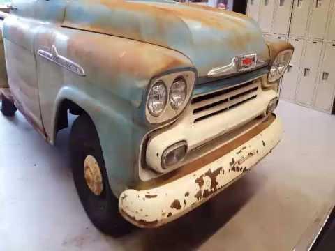 Barn find 1958 apache truck walk-around
