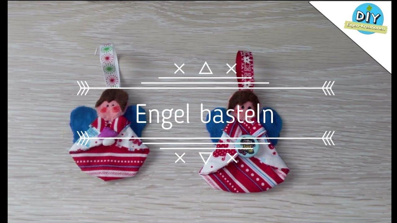 Stoffengel nähen mit kostenlosem Schnittmuster Eigen Kreationen DIY YouTube