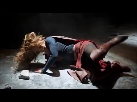 Supergirl getting the hell beaten out of her (ryona)