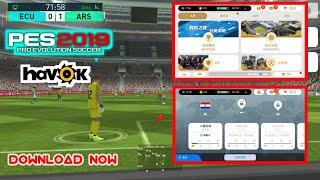 PES 2019 CHINA VERSION (Havok) gameplay