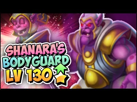 SHANNARA'S BODYGUARD (LV 130) COMBATES PVP - Monster Legends Review