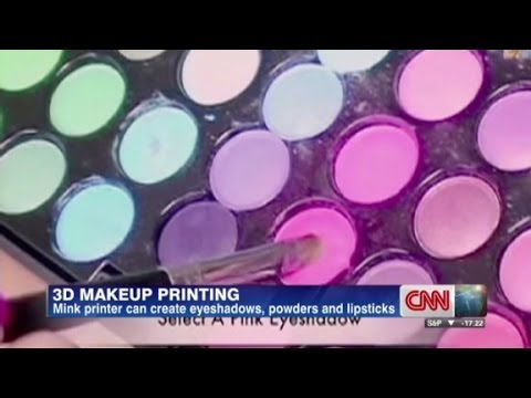 Get Your Makeup From A Printer
