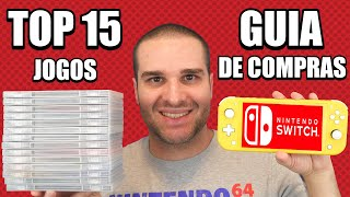 Guia De Compras Nintendo Switch + Switch Lite E TOP 15 Jogos Do Console