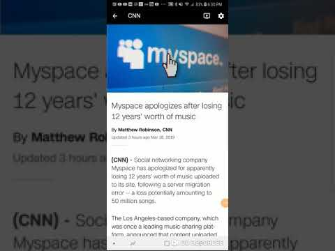 Myspace apologizes after losing 12 years' worth of music