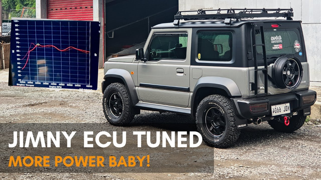 2019 Suzuki Jimny ECU TUNED! - (VLOG12 Part 2)