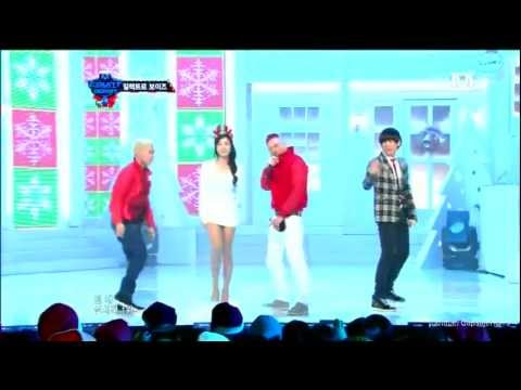 Electroboyz Feat.YeJin(LIVE) - Last Christmas +Ma Boy 2 (k-hiphop)