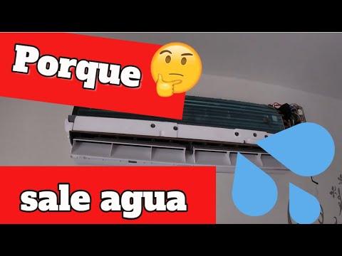 Porque Gotea Nuestro Aire Acondicionado Solucion Youtube