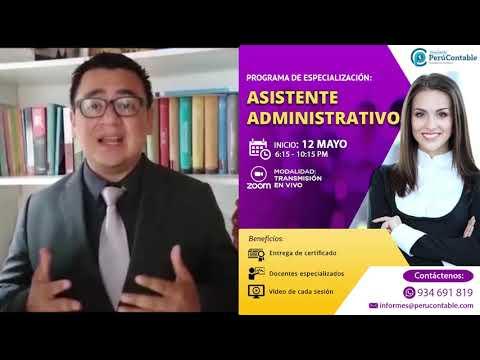 PROGRAMA DE ESPECIALIZACIÓN EN ASISTENTE ADMINISTRATIVO