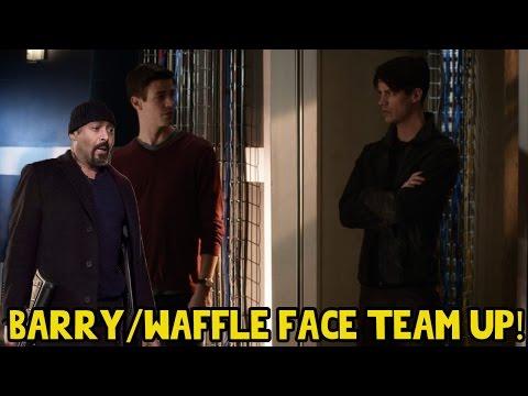 Barry and Savitar in Star Labs (Savitar Flash Team up) | The Flash 3x23 Finale Theories
