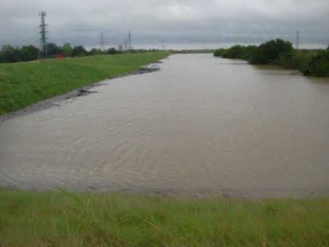 Addicks Dam capacity; hurricane Harvey; Houston Eldridge road