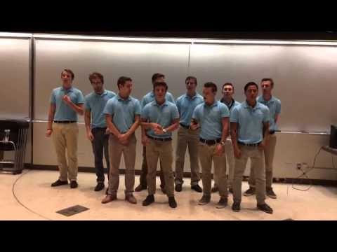 Beta Theta Pi Pledge Class Serenade
