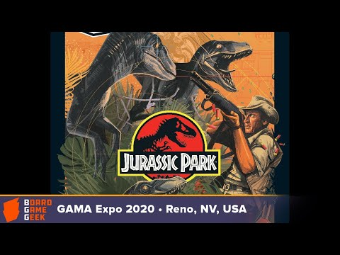 Unmatched: Jurassic Park – InGen Vs Raptors — Game Preview At GAMA Expo 2020