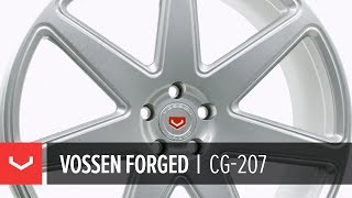 Vossen Forged | CG-207 Wheel | Satin Silver