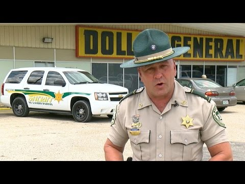 "Louisiana deputy ""Cajun John Wayne"" famous for tough talk"