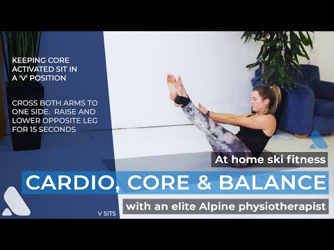 SkiBro Mountain-Ready Workout #2: Core, Cardio & Proprioception for Skiers & Snowboarders