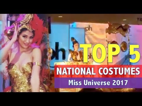 Miss Universe 2017: TOP 5 NATIONAL COSTUMES - Philippines, Thailand, Indonesia, Myanmar, Venezuela