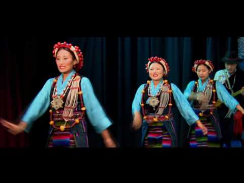 Tibetan dance from NTLA( Nepal Tibetan Lhamo Association)