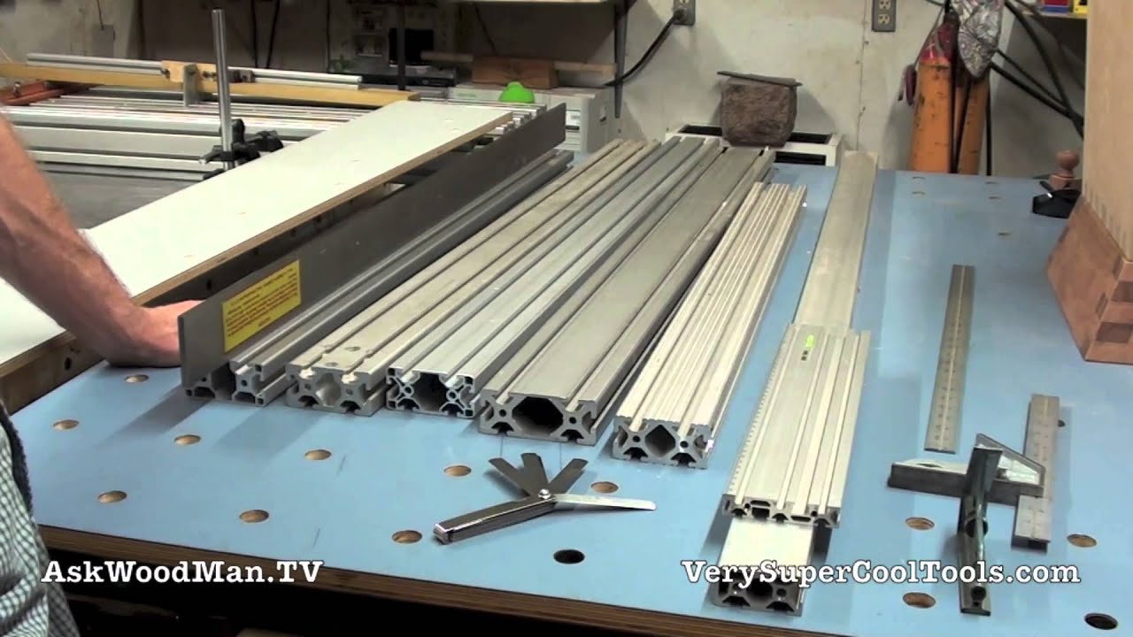 How Straight Are Aluminum Extrusions Youtube