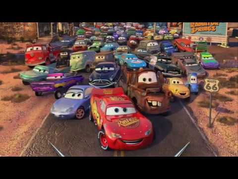 Cars 2006 Characters And Voice Actors Youtube