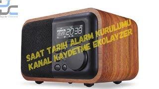 LOCI IBOX D90 Dijital Radyo Alarm Saat Kanal Kaydetme Kurulumu #nostaljikradyo #bayındırelektronik