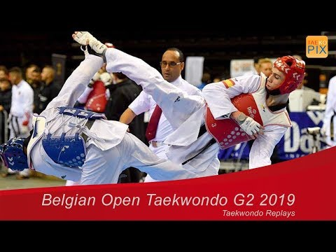 Belgian Open Taekwondo G2 2019 Day 2 fight  916 Giovanni IMPARATO POMARES vs  Thanakrit YODRAK