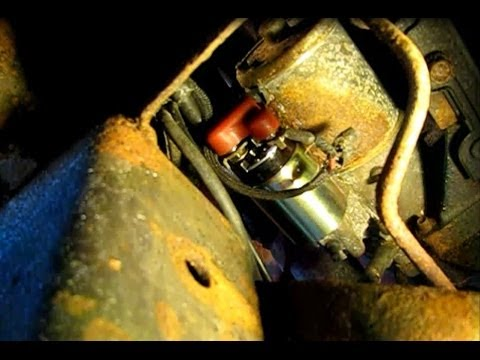 hqdefault how to replace the solenoid on a starter for a 5 4l ford f150 part  at soozxer.org