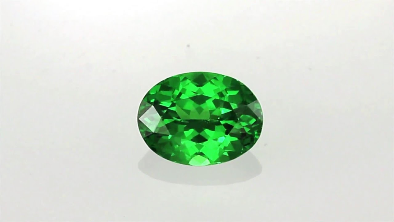 gems precious format tsavorite oval garnet color of cushion gem gemstone