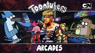 Arcade te extraño :cry:: Golden Toontubes Riders X   Toontubers   Cartoon Network