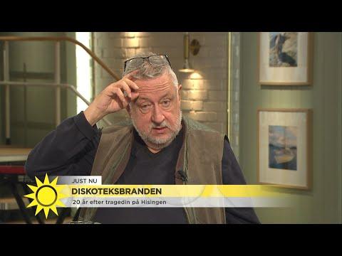 GW om sina intryck från diskoteksbranden - Nyhetsmorgon (TV4)