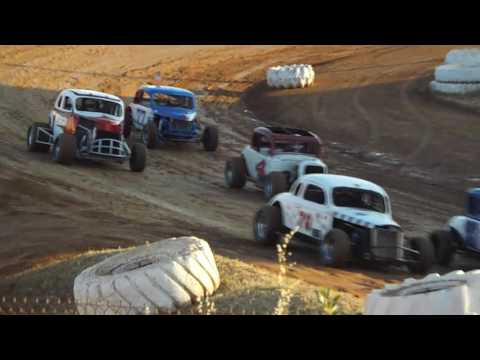 Hardtops Placerville Speedway 7/2/16 Heat Race