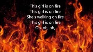 girl on fire by alicia keys lyrics