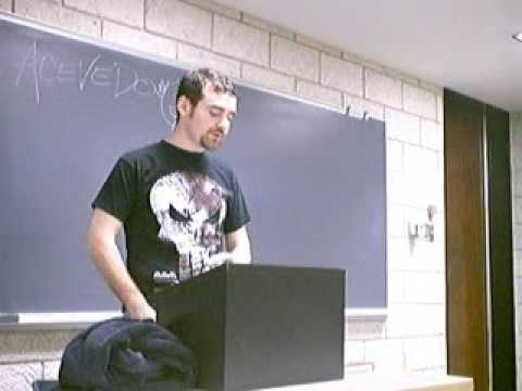 Douglas Adams College Speech By Paul Acevedo