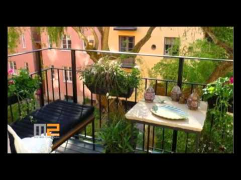M2 DIGITAL /// 29/11/14 /// Decoración de balcones - YouTube