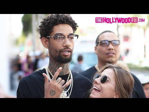 PnB Rock Gets Mad & Almost Fights A Man Who Disrespects XXXTentacion On Rodeo Drive 6.21.18