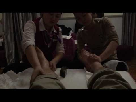 Massage With 2 China Girl At Shanghai Airport