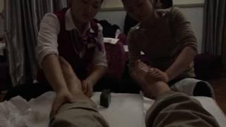 Massage with 2 China girl at Shanghai Airport thumbnail