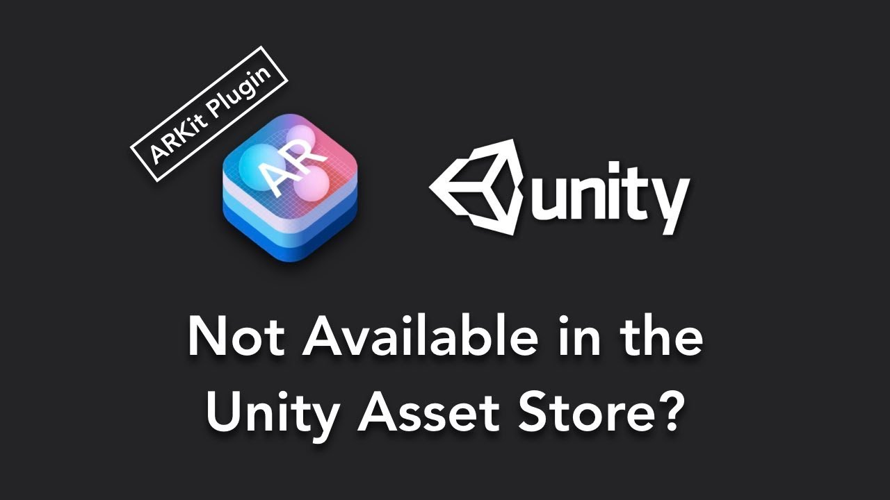 why ARkit plugin is not available now at asset store? where