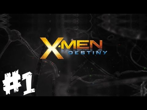 X-Men Destiny Walkthrough Part 1 - Emma Where Are Your Clothes? - Let's Play (Gameplay & Commentary)