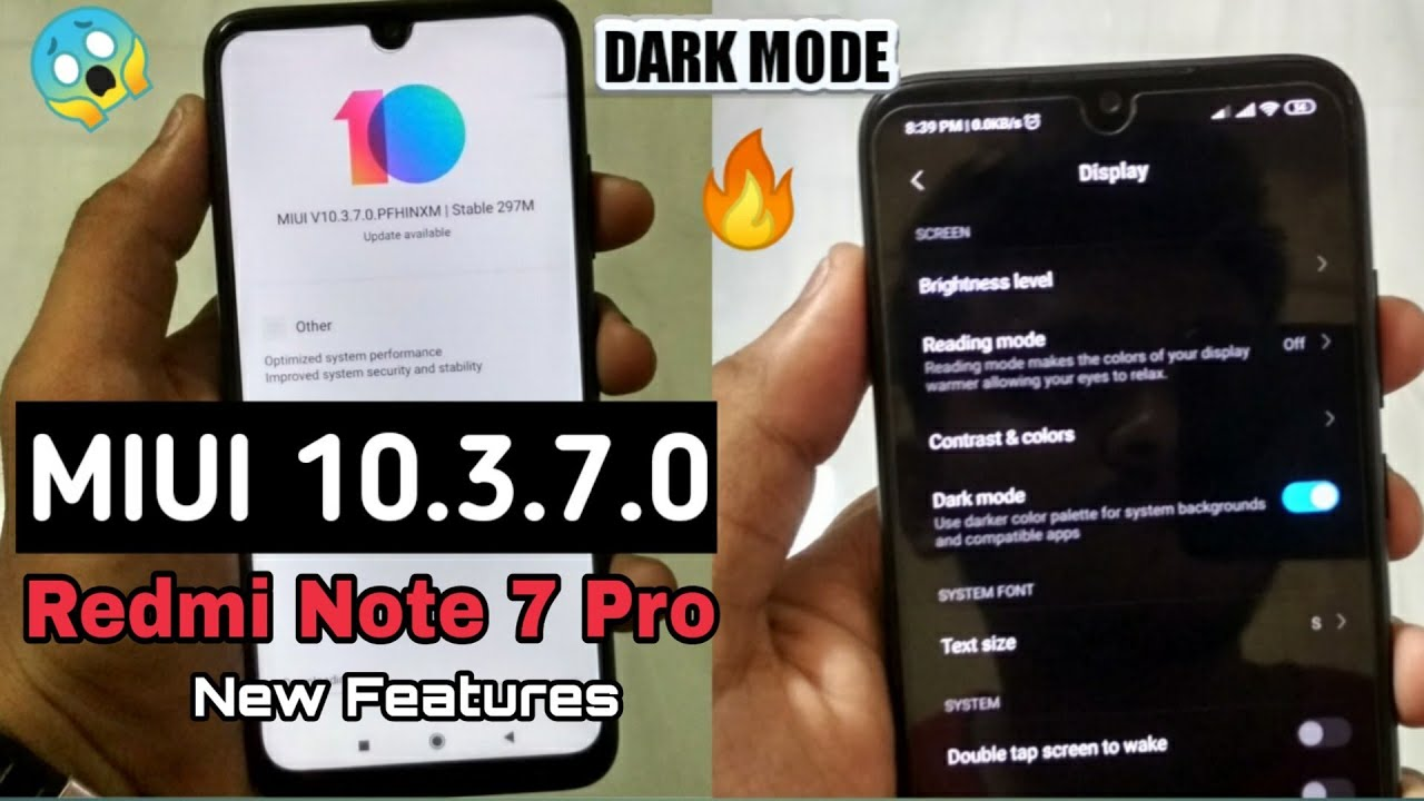 Repeat Redmi Note 7 Pro MIUI 10 3 7 0 New Stable Update