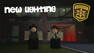 ROBLOX | NEW HAVEN COUNTY SHERIFF'S OFFICE | NEW LIGHTING