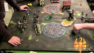 WotS Batrep 28 - Haley2 vs Deneghra2 50-point Warmachine/Hordes Battle Report