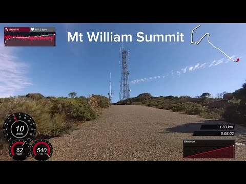 LAMA RIDES: Mt William Summit