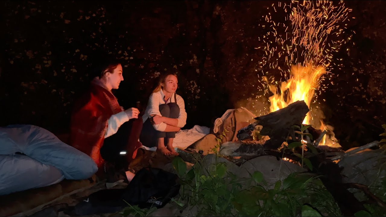 two girls sleep in a cave (and other adventures)