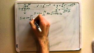 Deriving the Formula for Surface Area of a Sphere