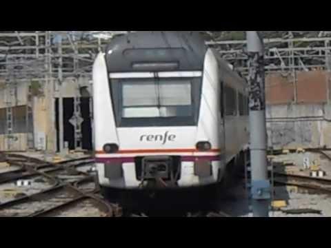 448 Destino Caspe saliendo de Estación de Francia 26 - 06 - 2013