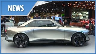 Paris Motor Show: electric cars steal the limelight