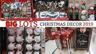 BIG LOTS CHRISTMAS DECOR 2019/ MINI VILLAGE & MORE